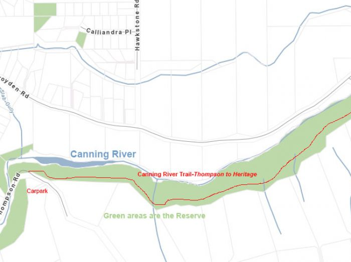 map canningrivertrail thompsontoheritage